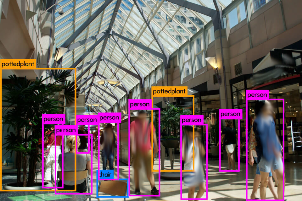 Object Classification in Shopping Mall