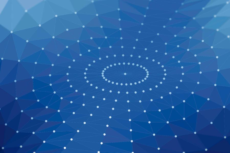 Visualisierung eines neuronalen Netzwerks